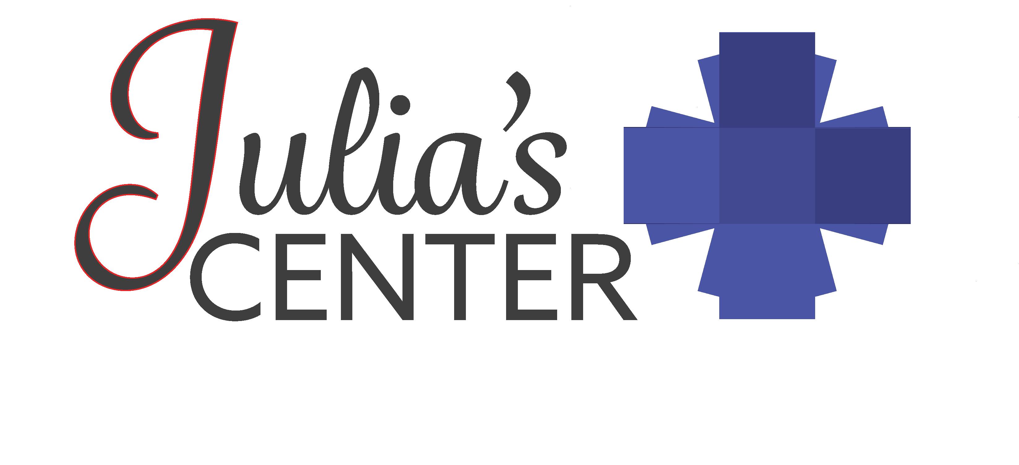Julia's Center for Healthcare Logo